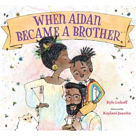 Lee and Low Books When Aidan Became a Brother