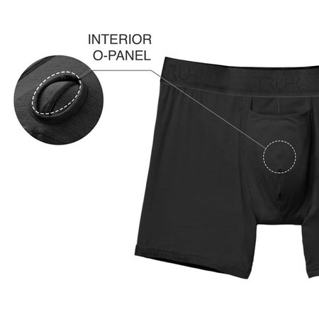 RodeoH Truhk Pouch Front STP/Packing Boxers, Black