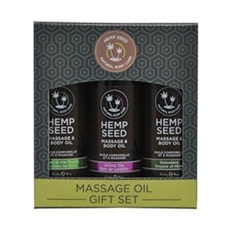Earthly Body Scented Massage Oil Gift Set