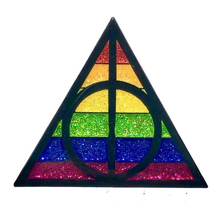 Geeky and Kinky Pride Potter Enamel Pin