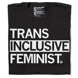 Raygun Trans Inclusive Feminist T-shirt, Hourglass Cut