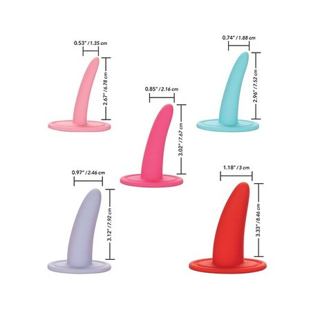 California Exotics She-ology 5-piece Wearable Vaginal Dilator Set