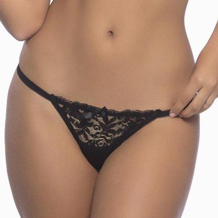 Raquel Tanga 3128, Black