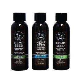 Hemp Seed Massage Oil