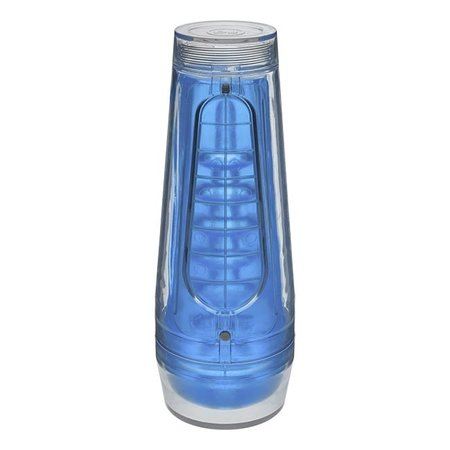 Doc Johnson Main Squeeze Optix Crystal Blue
