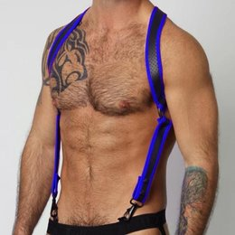 CellBlock 13 Cell Block 13 Gunner Harness CBS110, Blue