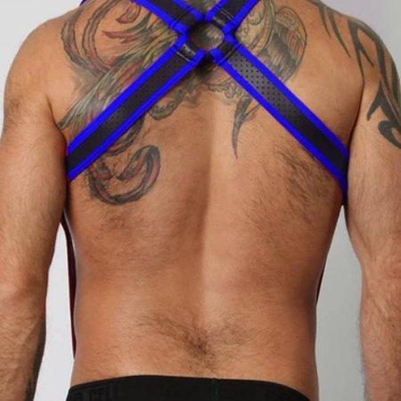 Cell Block 13 Gunner Harness CBS110, Blue