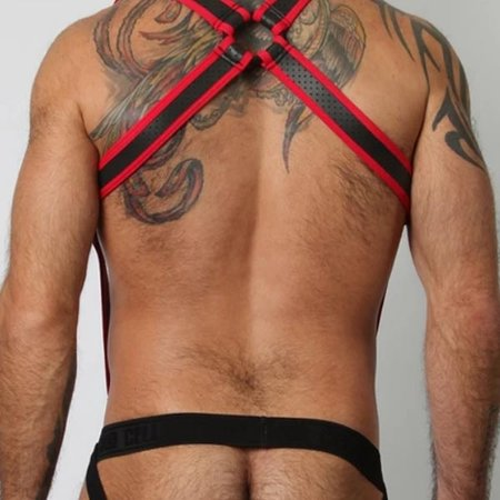Cell Block 13 Gunner Harness CBS110, Red