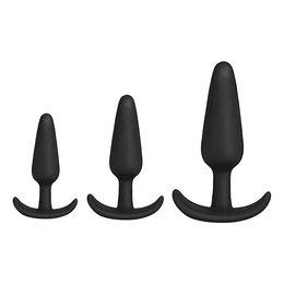 Mood Naughty Anal Trainer Set of 3 Plugs