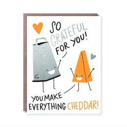 HelloLucky Grateful for You Greeting Card