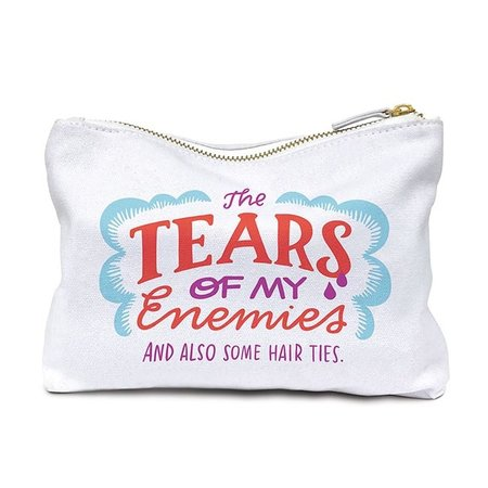 Emily McDowell & Friends Tears of My Enemies Pouch