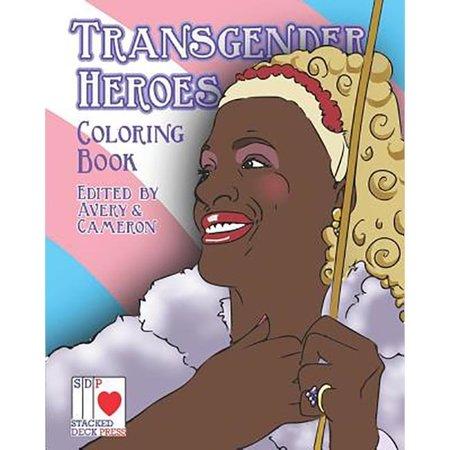 Transgender Heroes Coloring Book