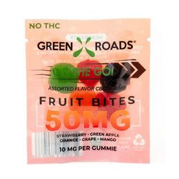 Green Roads CBD Edibles Fruit Bites