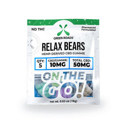 Green Roads CBD Edibles Relax Bears