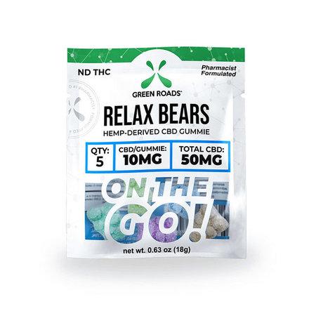 Green Roads CBD Edibles Relax Bears