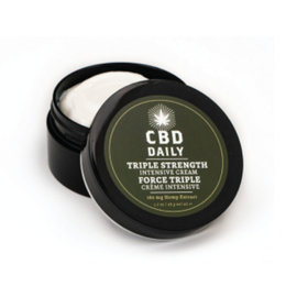 Earthly Body CBD Daily Intensive Cream Extra Strength