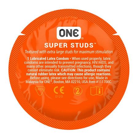 ONE ONE Super Studs Condom