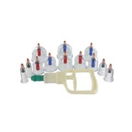 XR Brands 12-Piece Cupping Set