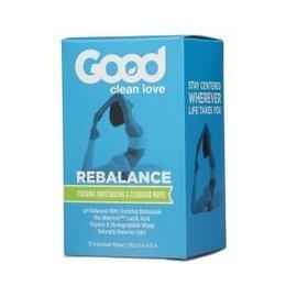 Good Clean Love Good Clean Love Rebalance Cleansing Wipes