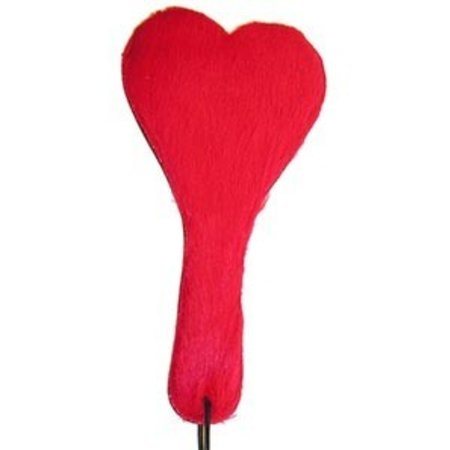 Ruff Lust Heart Paddle Furry/Leather
