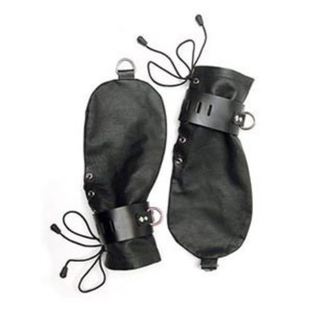 Leather Bondage Mittens