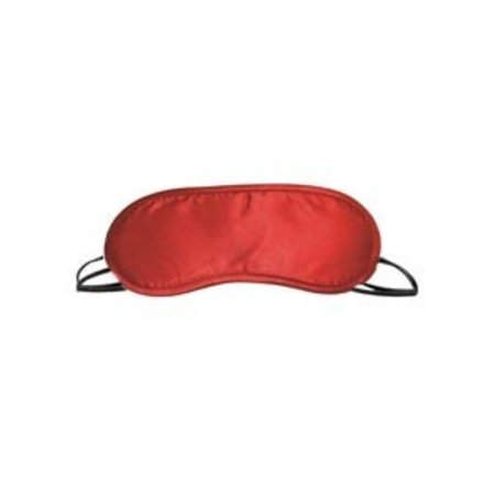 S and M Satin Blindfold, Red