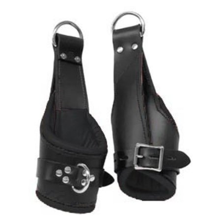 Suspension Cuffs, Deluxe Padded, Black