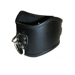 Tall Curved Posture Collar, Black