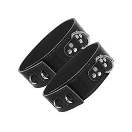Thigh Strap Cuffs with Hasp, Unlined