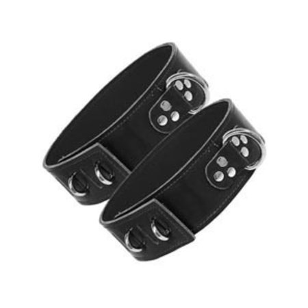 Kookie Thigh Strap Cuffs with Hasp, Unlined