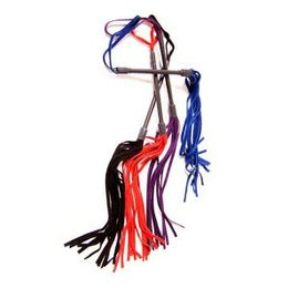 Leatherbeaten Tingle Suede Flogger