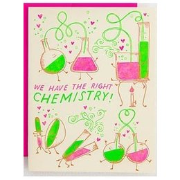 Chemistry Greeting Card