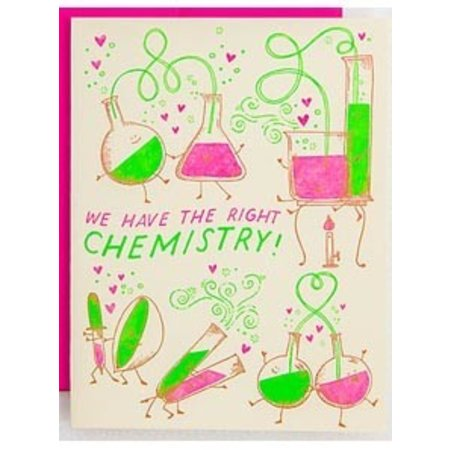 HelloLucky Chemistry Greeting Card