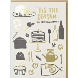 Eat Eat Eat Greeting Card