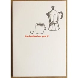 I'm Hooked On You Greeting Card
