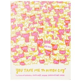 Kitten City Greeting Card