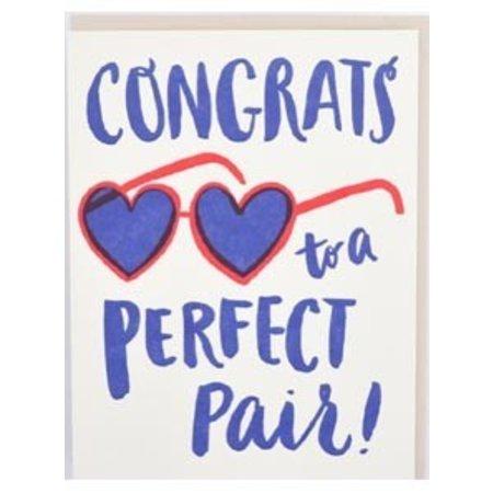 Perfect Pair Shades Greeting Card