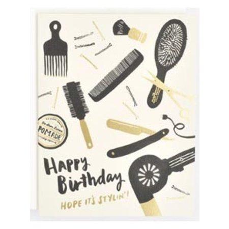 Stylin' Birthday Greeting Card