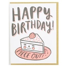 Piece Out Birthday Greeting Card
