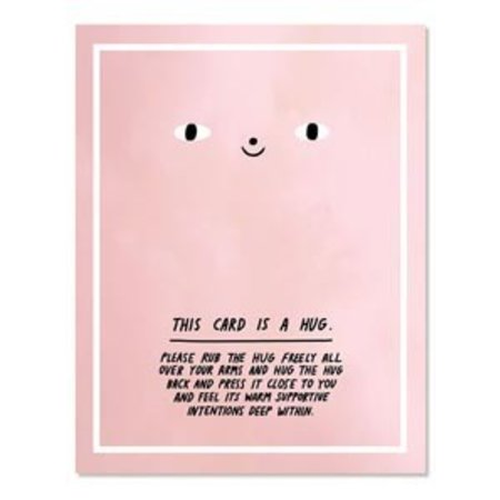 Laura Berger This Card is a Hug Greeting Card