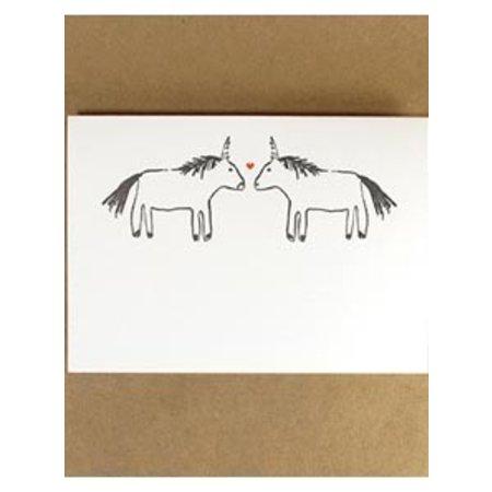Union-Corn Greeting Card