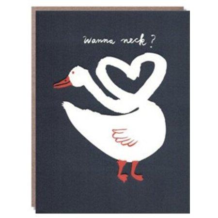 Wanna Neck? Greeting Card
