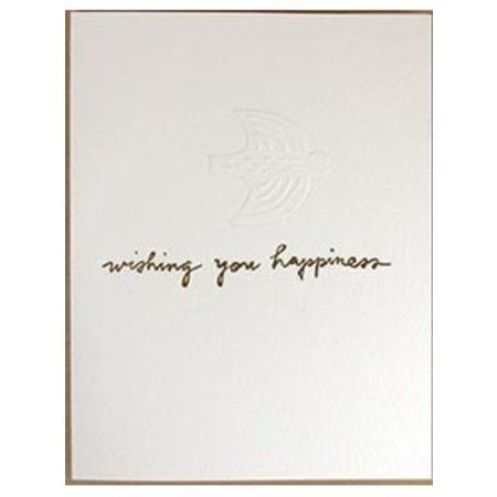 Wishing You Happiness Greeting Card