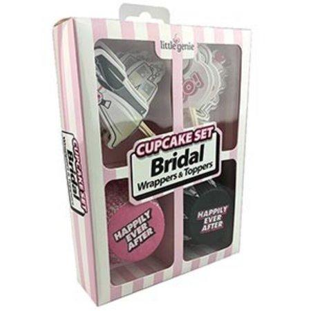 Little Genie Bridal Cupcake Set
