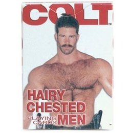California Exotics Colt Hairy Chested Men Playing Cards
