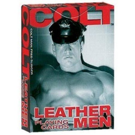 California Exotics Colt Leather Men Playing Cards