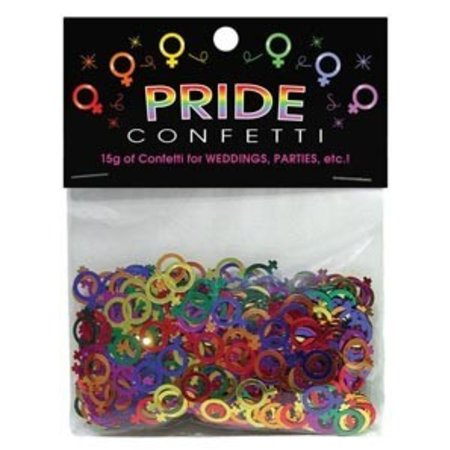 Pride Confetti, Female Symbols