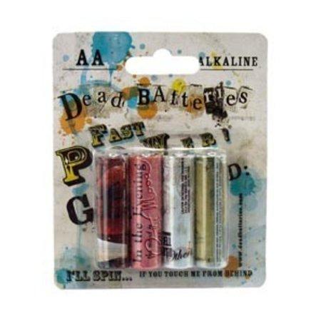 Dead Batteries Dead Batteries Brand AA Batteries