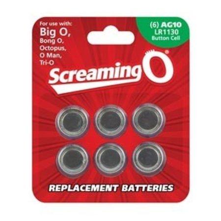 LR1130 Batteries, 6-pack