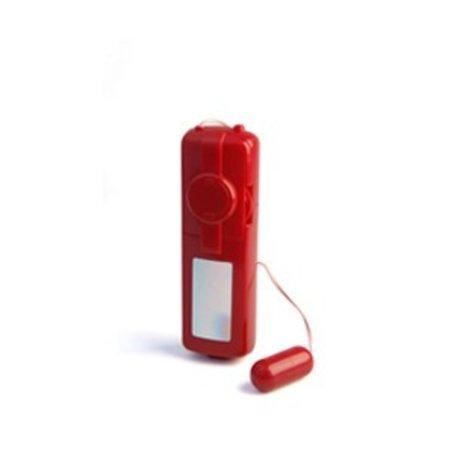 Vibratex Red Zinger Bullet